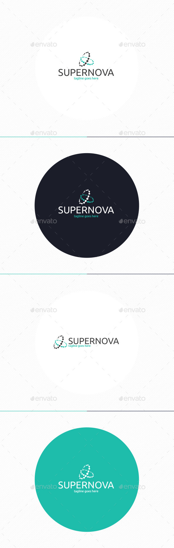 GraphicRiver Super Nova Logo 10694232