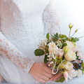 Bride with bouquet of flowers - PhotoDune Item for Sale