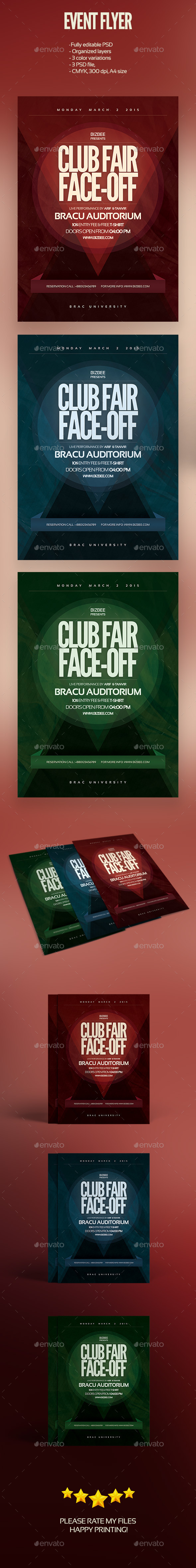 GraphicRiver Image-Free Event Flyer 10588130