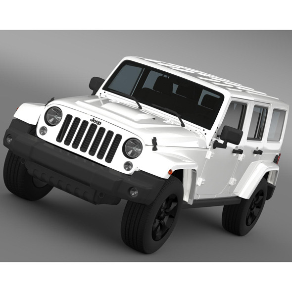 Jeep Wrangler Black Edition 2 2015 - 3DOcean Item for Sale