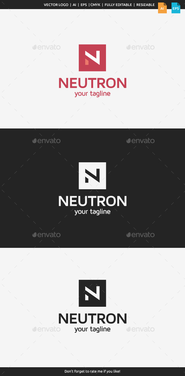 GraphicRiver Neutron Letter N 10694385
