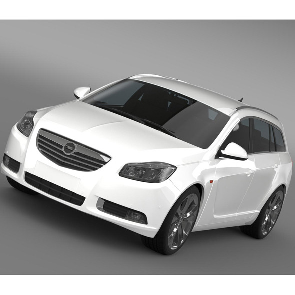 Opel Insignia Sports Tourer 2013 - 3DOcean Item for Sale