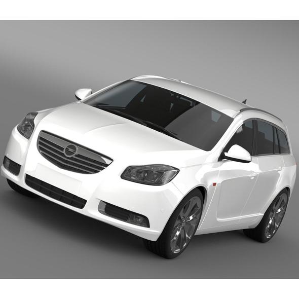 3DOcean Opel Insignia Sports Tourer 2013 10694389