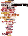 Mountaineering Word Cloud Concept - PhotoDune Item for Sale