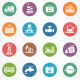 Industry Circle Icons - GraphicRiver Item for Sale
