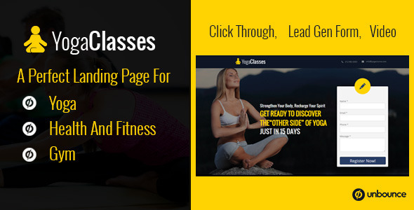 ThemeForest Fitness Pack for Yoga Gym Health & Weight Loss 10694854
