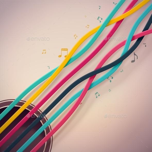 GraphicRiver Guitar Strings 10695053