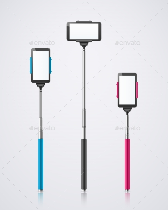 GraphicRiver Isolated Monopods 10695058