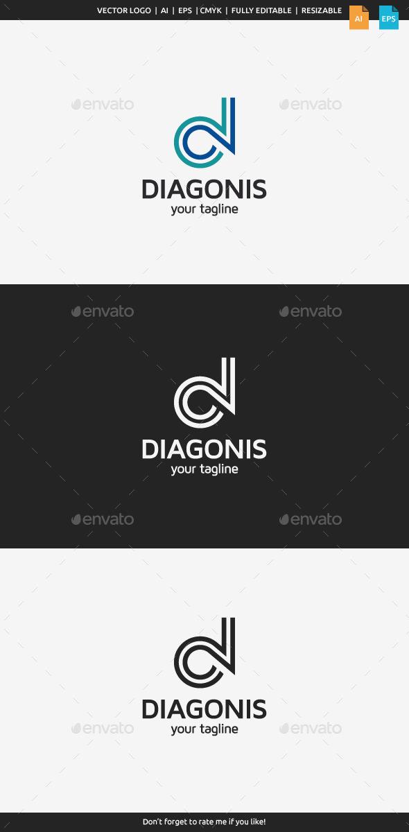 GraphicRiver Diagonis Letter D 10695110