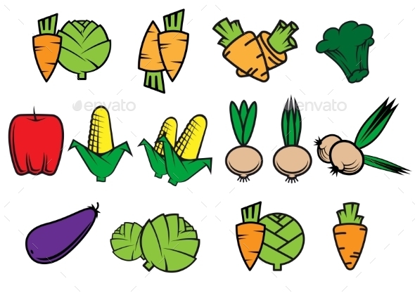 GraphicRiver Vegetables 10695120