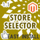 Store Selector Magento Extension