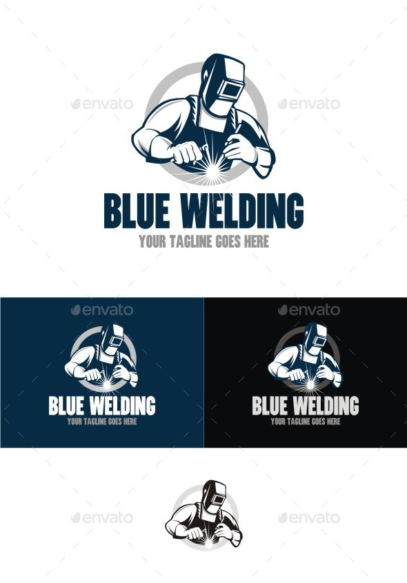 GraphicRiver Blue Welding 10695361