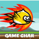 Flappy Cute Phoenix Sprite Sheets Game Character - GraphicRiver Item for Sale