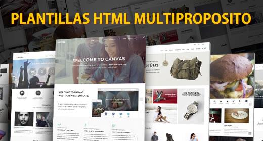 Las mejores plantillas HTML