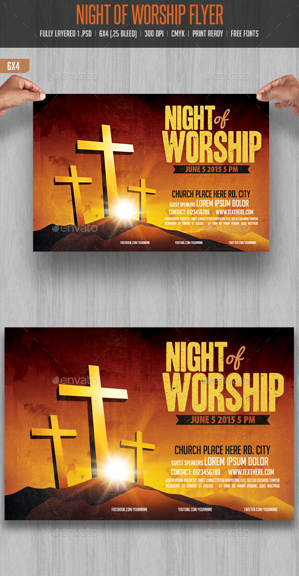 GraphicRiver Night of Worship 10695758