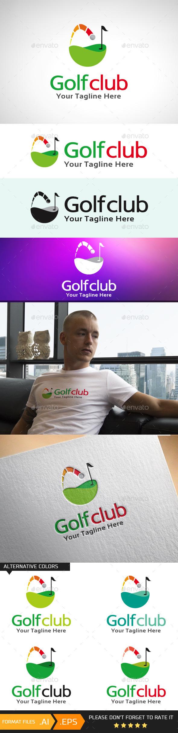 GraphicRiver Golf Club Logo Template 10695796
