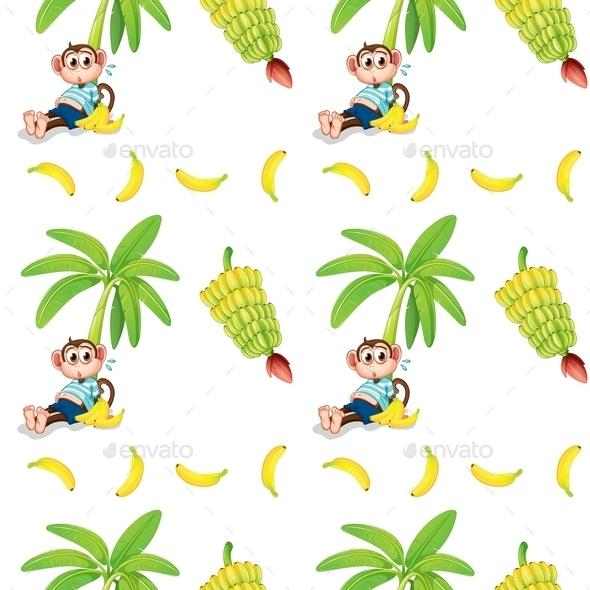 GraphicRiver Monkeys and Bananas 10695839