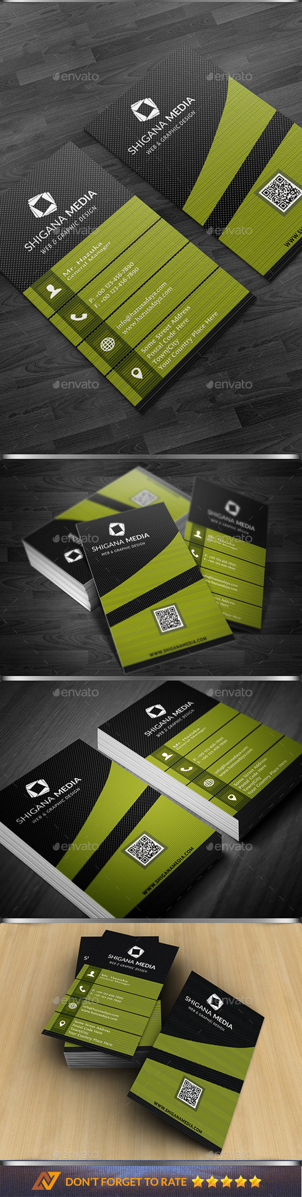 GraphicRiver Modern Corporate Bussiness Card 10695850