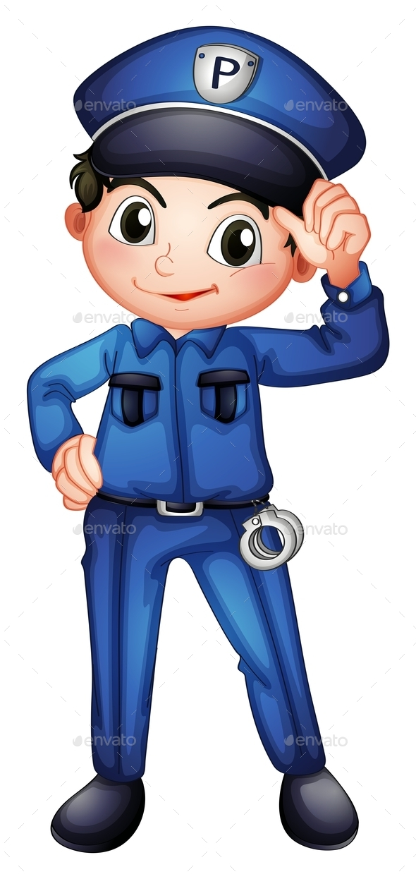 GraphicRiver A Policeman 10695879