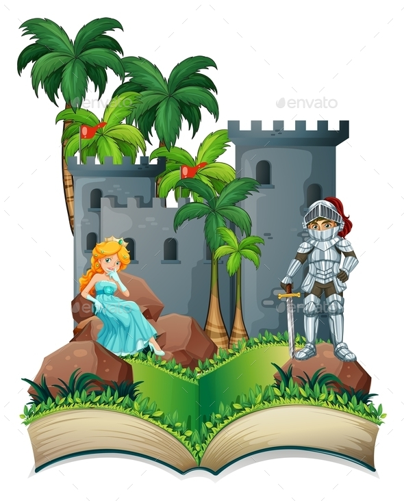 GraphicRiver Knight and Princess 10695882
