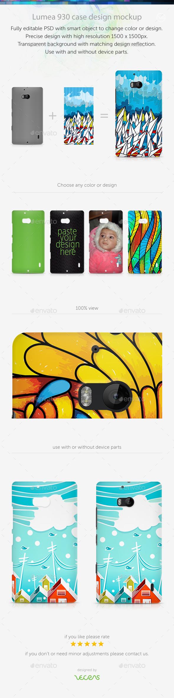 GraphicRiver Lumea 930 Case Design Mockup 10696055