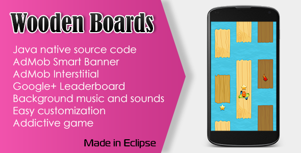 CodeCanyon Wooden Boards Game with AdMob and Leaderboard 10696095