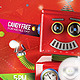 Flyer Robotin Party for Kids - GraphicRiver Item for Sale