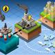 Isometric Infographic Petroleum Rig Energy Diagram - GraphicRiver Item for Sale