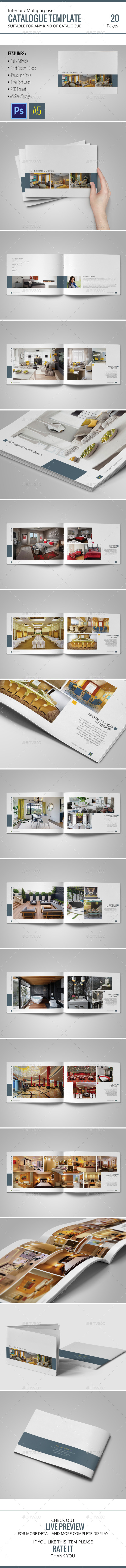 GraphicRiver Catalog Template 10696860