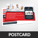 Medical Health Care Postcard Template - GraphicRiver Item for Sale