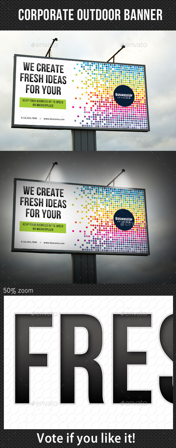 GraphicRiver Corporate Outdoor Banner 32 10697584
