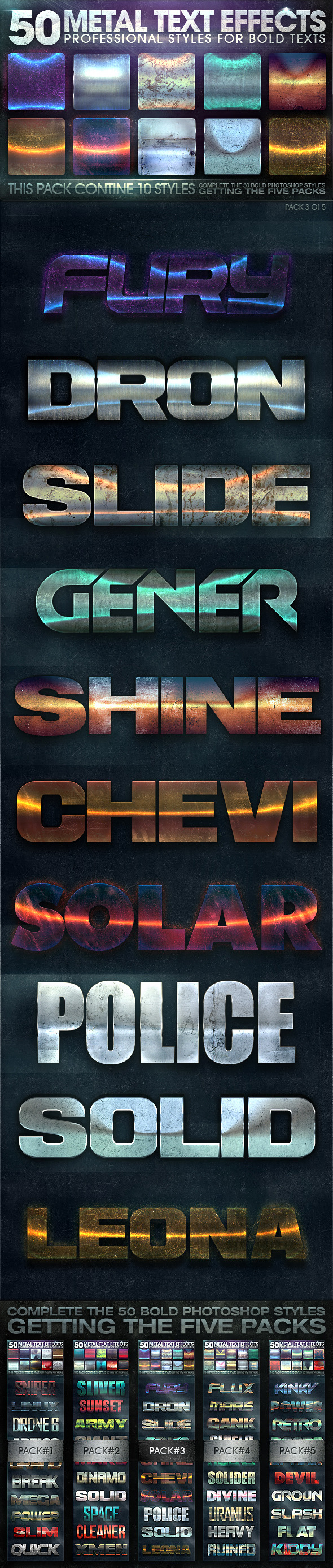 GraphicRiver 50 Metal Text Effects 3 of 5 10697920