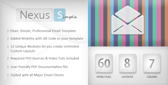 Nexus simpla | Email Template