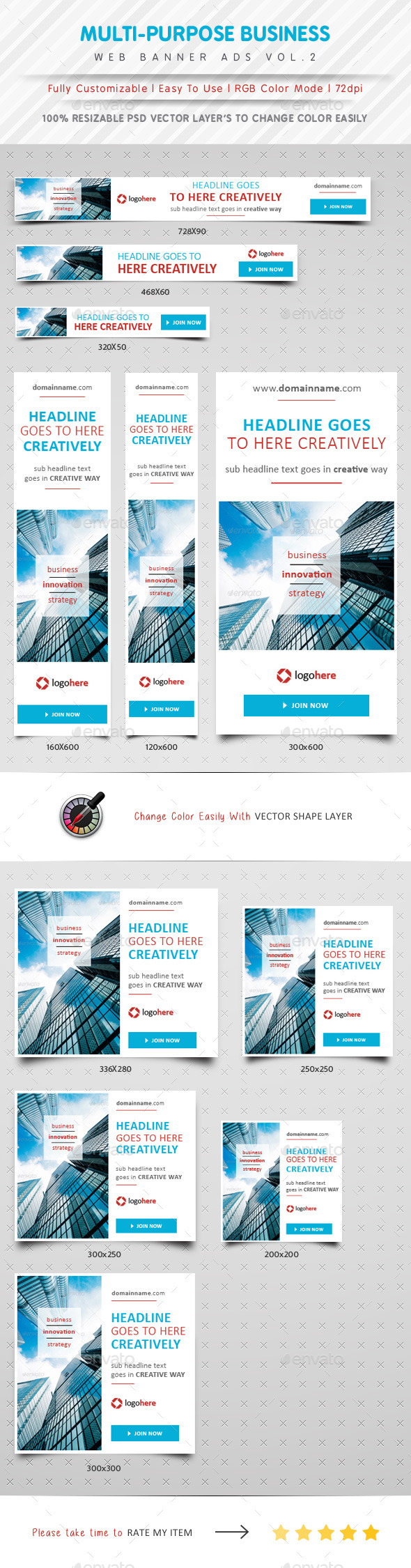 GraphicRiver Multipurpose Web Banner Ads Vol.2 10698435