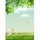 Vector Summer Landscape - GraphicRiver Item for Sale