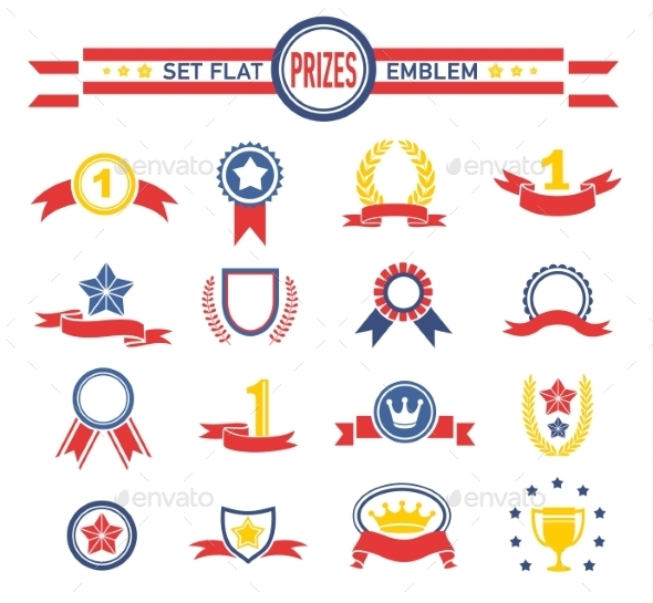GraphicRiver Prices Emblems 10698952