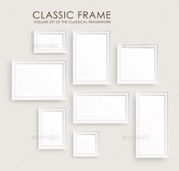GraphicRiver Picture Frames Template 10699080