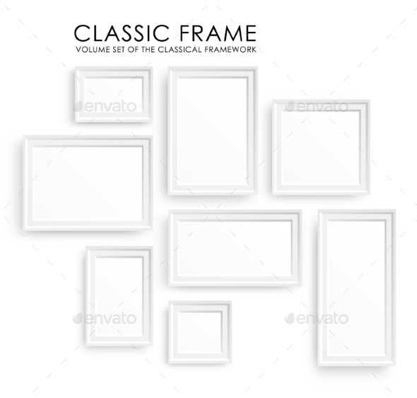 GraphicRiver Picture Frames Template 10699083