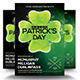 Partick`s day Flyer Template - GraphicRiver Item for Sale