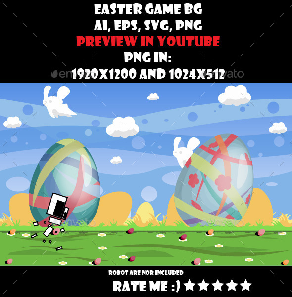 GraphicRiver Easter game BG 10699637