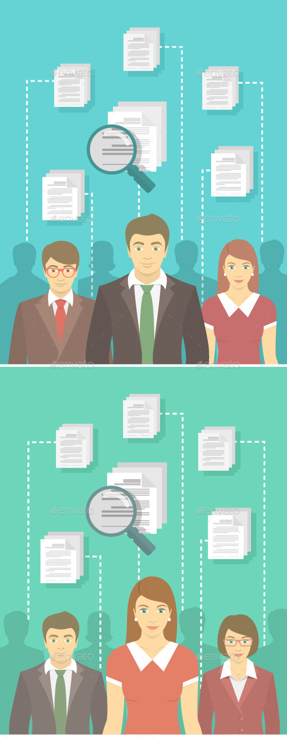 GraphicRiver Staff Recruitment in New Business 10700025