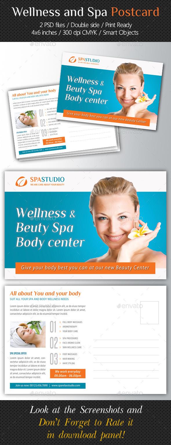 GraphicRiver Wellness and Spa Postcard Template V04 10700312