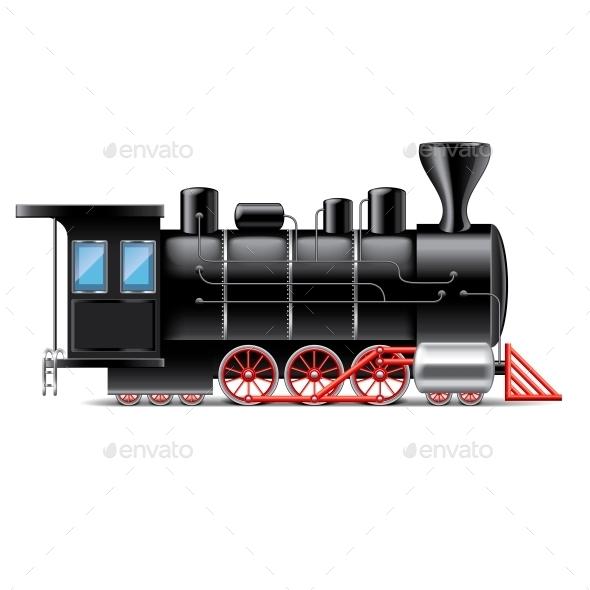 GraphicRiver Locomotive 10700385