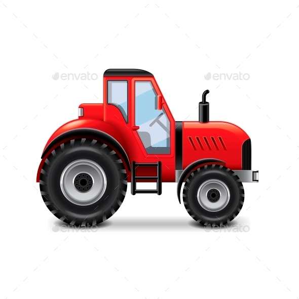 GraphicRiver Tractor 10700387