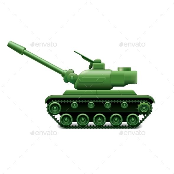 GraphicRiver Military Tank 10700392