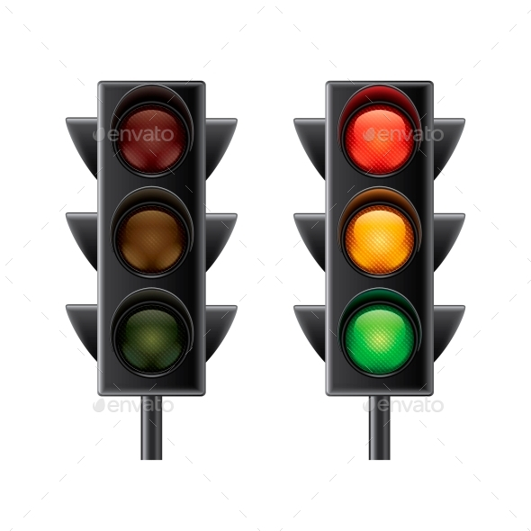GraphicRiver Traffic Lights 10700393