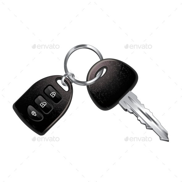 GraphicRiver Car Keys 10700402