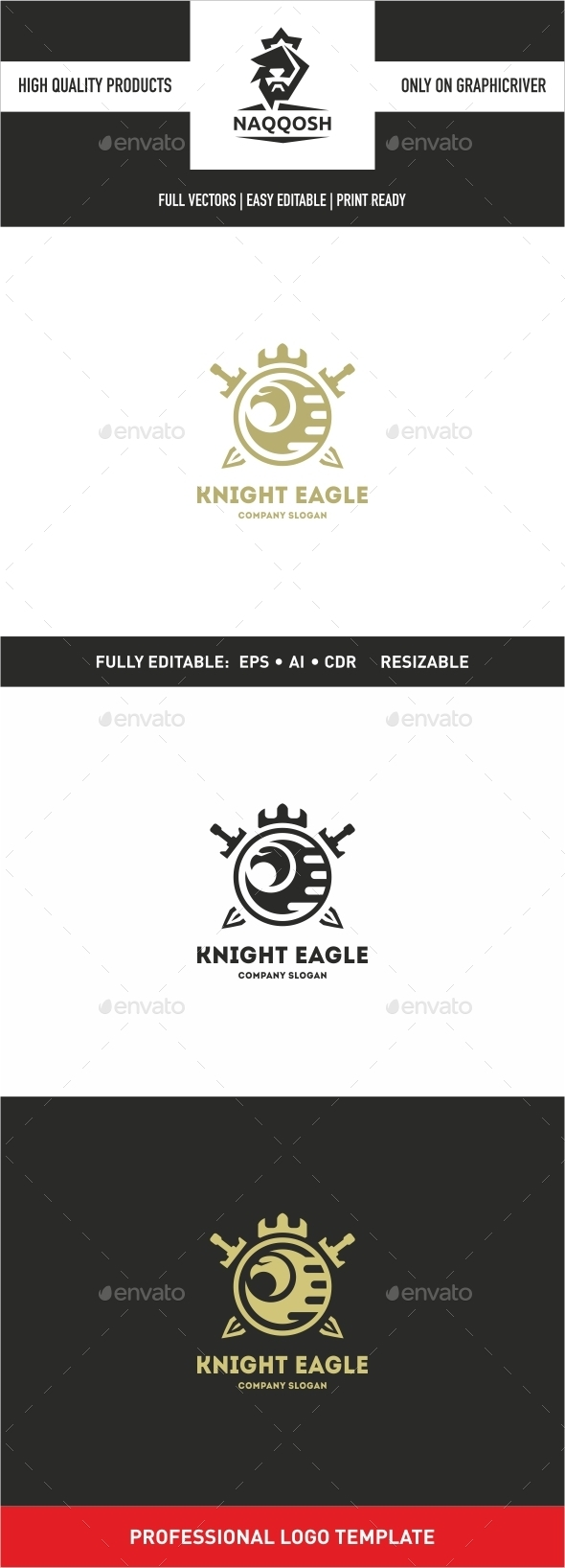 GraphicRiver Knight Eagle 10700406