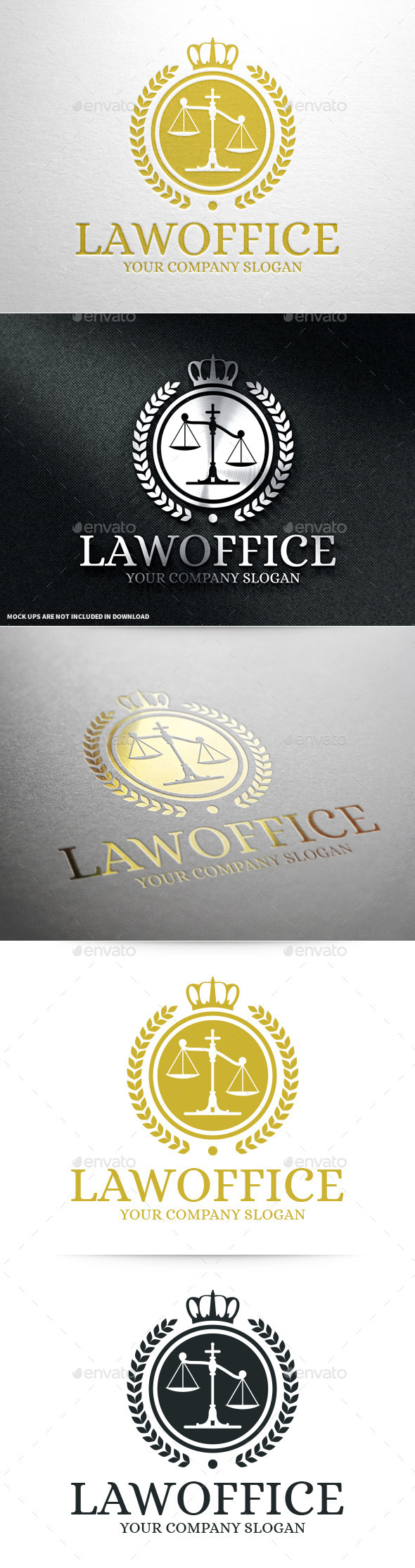 GraphicRiver Law Office Logo Template v2 10700525