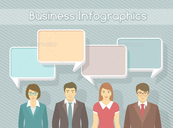 GraphicRiver Business Team Infographics Elements 10700746